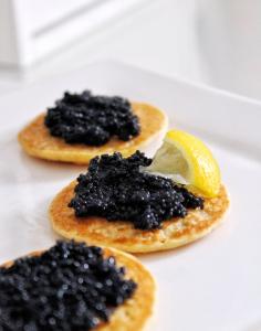 Cavi-Art caviar noir sans poisson vegan sans gluten sans lactose végétarien blinis