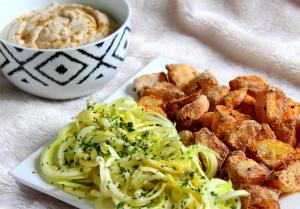 Houmous aux haricots blancs vegan sans gluten sans lactose
