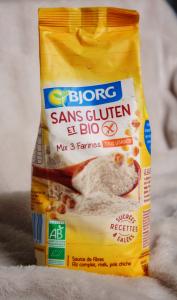 Mix farine bio sans gluten Bjorg