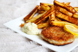 Poisson pâné Sophie's kitchen vegan sans gluten sans lactose végétarien
