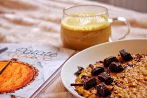 Porridge hivernal Patate Douce Cléa Cuisine La Plage