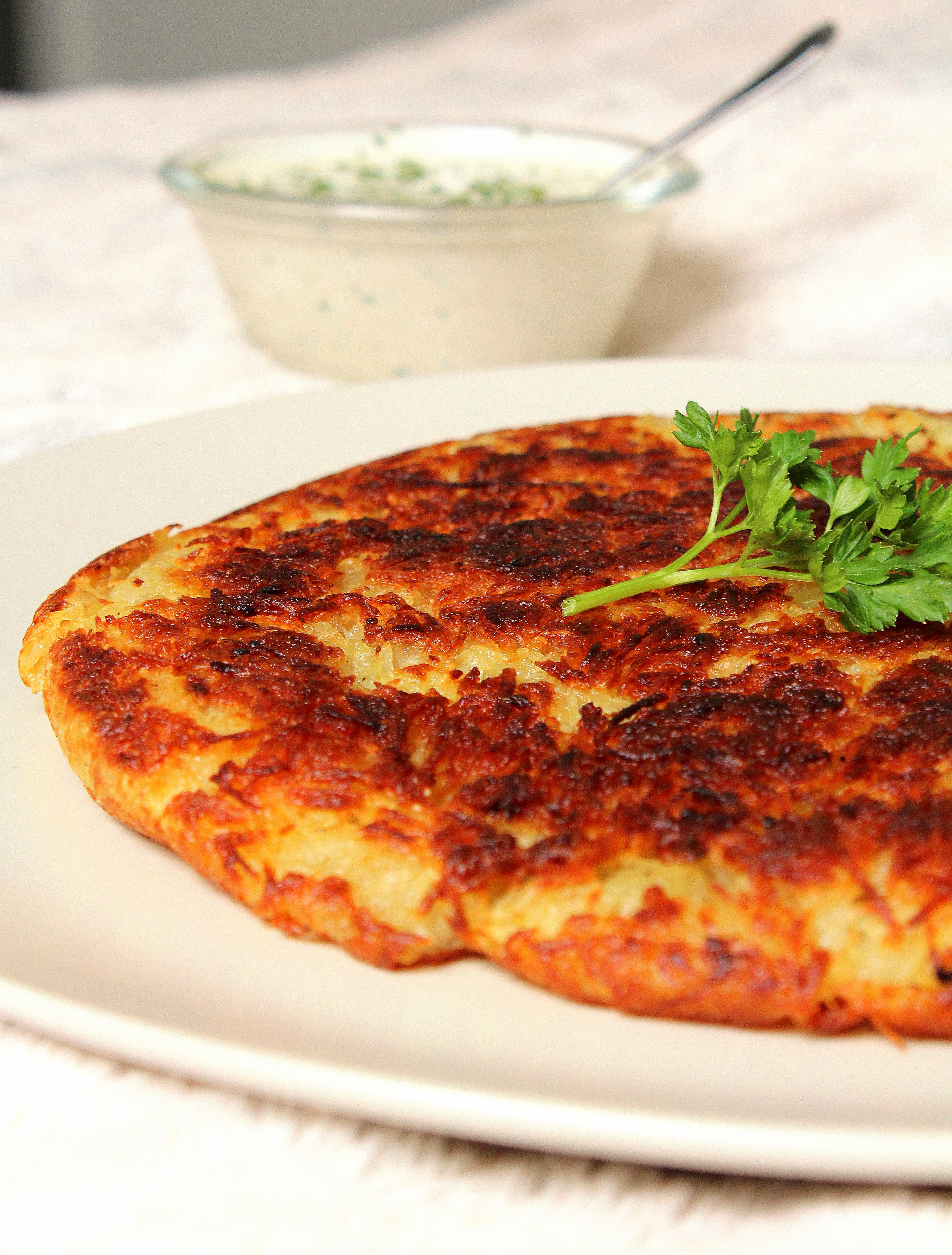 Rösti pommes de terre vegan sans gluten