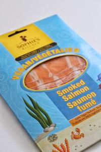 Saumon fumé Sophie's kitchen vegan sans gluten sans lactose végétarien