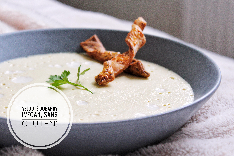 Velouté Dubarry vegan végétarien sans gluten sans lactose